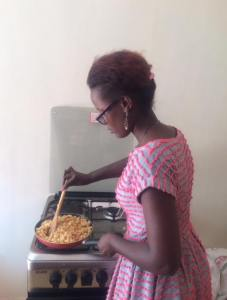 She is a great cook